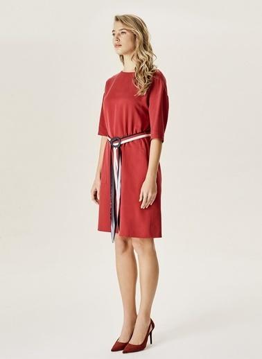 NaraMaxx Elbise Kırmızı